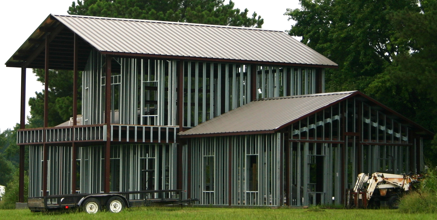 All metal construction home distributor of outback steel for All metal houses